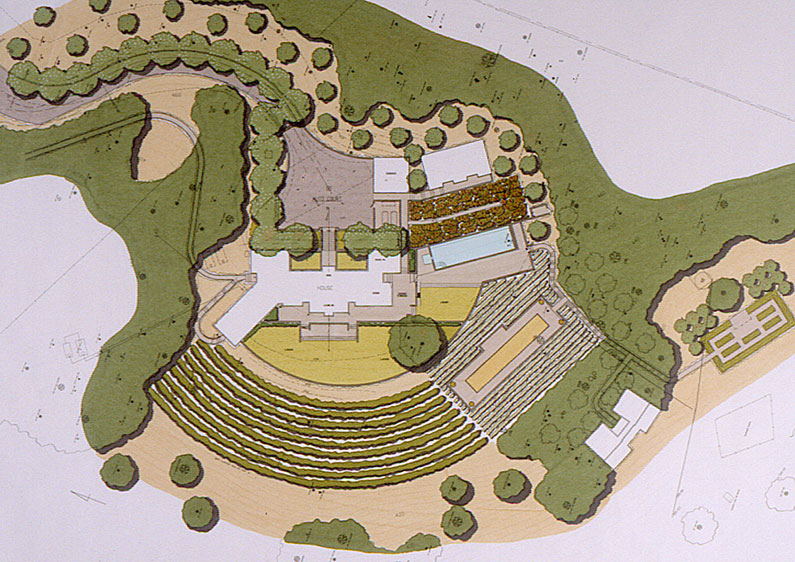 A Vineyard Estate In Chalk Hill Plan