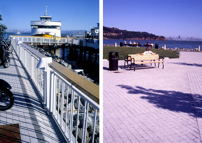 Tiburon Ferry Plaza