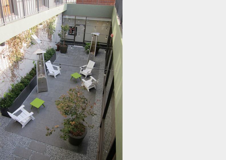 1221 Jones Street Atrium Garden